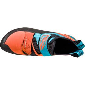 La Sportiva Katana Pies de gato Hombre, tangerine/tropic blue